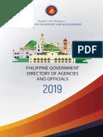 2019 Govt Directory for PostingG