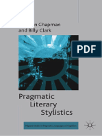 (Palgrave Studies in Pragmatics, Language and Cognition) Siobhan Chapman, Billy Clark (Eds.)-Pragmatic Literary Stylistics-Palgrave Macmillan UK (2014)