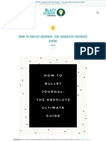 How to Bullet Journal the Absolute Ultimate Guide — the Lazy Genius Collective