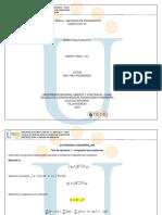 Tarea 2 - Ejercicios b - Metodos de Integración