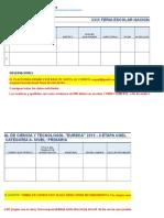 Base de Datos Trabajos de Investigación- Fencyt 2019 -Fase Provincial-ie Xxxxx