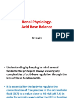 Acid Base Balance Dr Naim