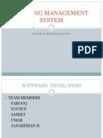 Banking Management System 7030