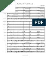 partituradebanda.Dont Stop Till You Get Enough.pdf