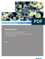 2013 Nanomaterials Health Hazards of Chemical Compounds