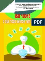 ISO 10015 - O que todo gestor tem que saber