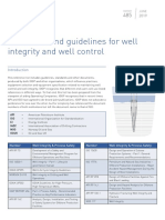 485 Standard and Guidelines for Well Integrity and Well Control