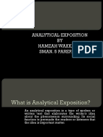 Analytical Exposition Ok.