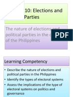Electiona and parties