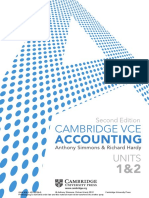 Accounting 11 Cambridge