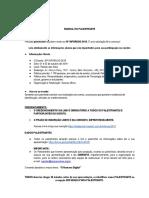Manual Do Palestrante 2019