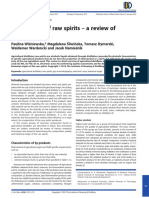 The Analysis of Raw Spirits–a Review Ofmethodology