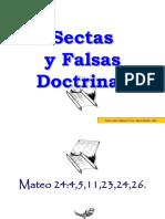 sectas y falsas doctrinas
