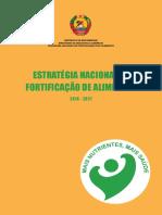Estratégia Nacional de Fortificação de Alimentos