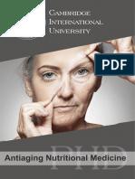 Antiaging Nutritional Medicine_PHD