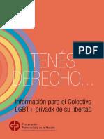 Tenes Derecho Informacion Para El Colectivo LGBT Privadx de Su Libertad