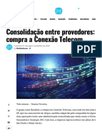 Noticia Acon - Media Telecom x Telesintese 2