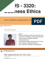 business ethics 3320