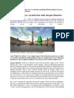 The Politics of Art_entrevista a Jacques Rancière_Cracovia 2014