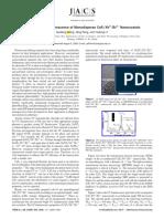 2009 Upconversion Luminescence of Monodisperse Nanocrystals