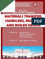Materials Handling, Reactors and Boilers