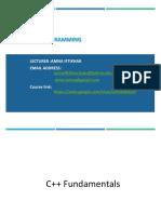 Lecture_02+C++ Fundamentals