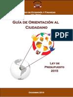 Guis Orientacion Ley Ppto 2015 (1)WORDDDDDDDDDD
