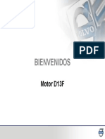 Motor D13F Nuevo