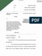 Affidavit of Lehoan T. Pham in Response to Deirdre Evavold's Letter Dated September 27, 2019 (2)