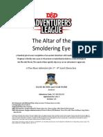 CCC-SRCC01-03 - Altar of the Smoldering Eye (1-4)
