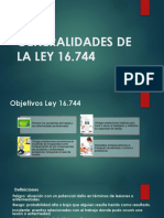 power de la ley 16.744