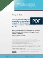 Cuentos Argentinos Para las clases de Español