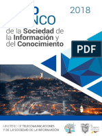 Libro Blanco de La Sociedad de La Informacion y Del Conocimiento.