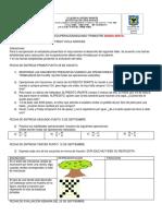 PROFE FREDY AVILA Taller de Recuperacion MATEM. 6 8. y 11