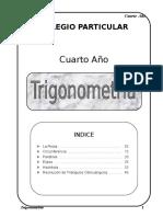 11 Trigonometria 4to III Trim