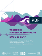 Incidence of Obstetric and Foe