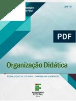 Organização Didática - IFPI