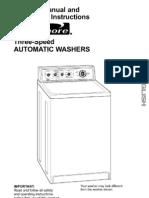 Kenmore Washer Manual