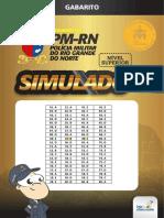 Gabarito do simulado da PMRN