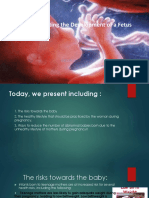 Factor Affecting the development of fetus