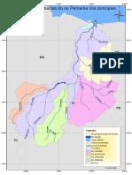 Subbacias Do Rio Parnaiba e Tributarios
