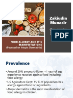 Zakiudin Munasir - Food Allergy and Manifestation