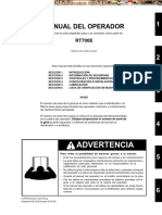 Manual del Operador Grua RT