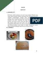 Laporan Pembuatan Sambal Pecel
