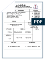 Final Circuitos Electricos II Iforme 4 Docx
