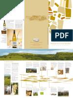Brochure Domaine de la Croix Senaillet