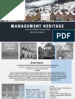Management Heritage
