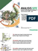 Materi 2 Site Analysis