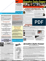 Greensboro Justice Summer 2010 Newsletter