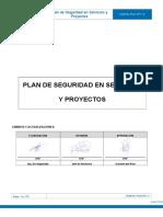Plan de Seguridad Servicios Proyectos